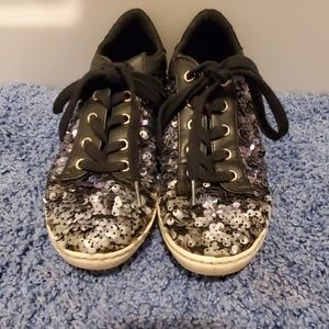 GIRLS Betsey Johnson sequence sneakers